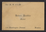 Helene Kuebler business card