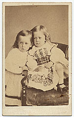 [Philip Leslie Hale as a child ]
