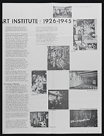 [School of the Art Institute of Chicago newsletter, volume one, issue 2 inside 3]