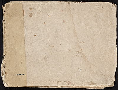 [William Michael Harnett sketchbook]