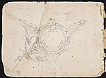 [William Michael Harnett sketchbook cover verso ]