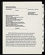 Richard Serra v. United States General Services Administration et al. legal files