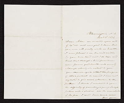 George Linen, Bloomingdale, Ill. letter to unidentified recipient