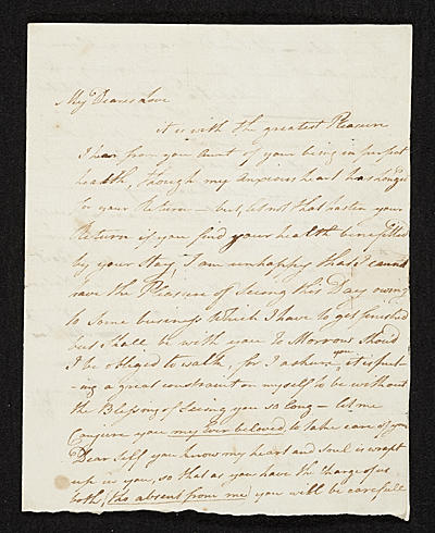 [John Ramage letter to Catharine Ramage]