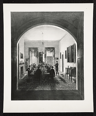 [Photograph of The Dinner Party]