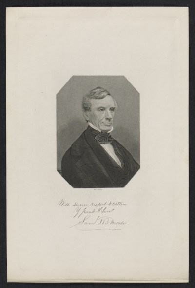 [Portrait of Samuel Finley Breese Morse]