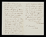 [Albert Bierstadt, New Bedford, Mass. letter to John Durand, New York, N.Y. verso 1]