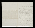Henry Kirke Brown letter to John George Brown