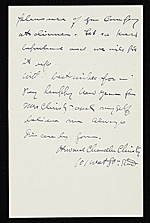 [Howard Chandler Christy, New York, N.Y. letter to Charles Henry Hart 1]