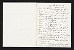 [Thomas Eakins, New York, N.Y. letter to Charles Henry Hart, New York, N.Y. ]
