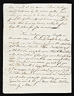 [John Singleton Copley letter to unidentified recipient, Florence, Italy 1]