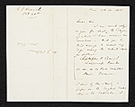 [Christopher Pearse Cranch, Paris, France letter to James Stillman, New York, N.Y. ]