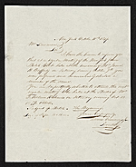 [Thomas Seir Cummings, New York, N.Y. letter to unidentified recipient ]