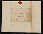 [William Danforth, Kensington, England letter to Asher Brown Durand, New York, N.Y. 1]