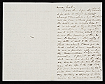[Francis William Edmonds, Bronxville, N.Y. letter to unidentified recipient 1]