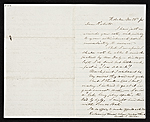 [Charles Loring Elliott, Hoboken, N.J. letter to unidentified recipient ]