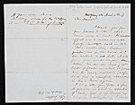 George Fuller, Montgomery, Ala. letter to Asher Brown Durand
