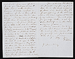 [George Fuller, Montgomery, Ala. letter to Asher Brown Durand 1]