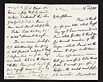 Unidentified sender, London, England letter to unidentified recipient