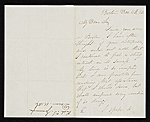 Richard S. (Richard Saltonstall) Greenough, New York, N.Y. letter to James Stillman, New York, N.Y.