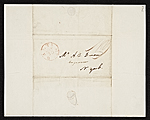 [Chester Harding, Baltimore, Md. letter to Asher Brown Durand, New York, N.Y. 1]