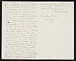 [Daniel Huntington, New York, N.Y. letter to Charles Henry Hart, Rosewood, Pa. 1]