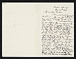 George Inness letter to unidentified recipient
