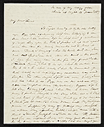 Matthew Harris Jouett letter to Mr. Hart, New Orleans, La.