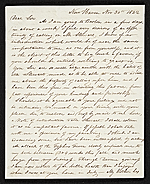 Nathaniel Jocelyn, New Haven, Conn. letter to John Trumbull