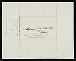 [Thomas Bayley Lawson, Paris, France letter to Benjamin Poore, Lowell, Mass. 1]