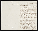 L. R. (Louis Remy) Mignot, New York, N.Y. letter to James Reid Lambdin, Philadelphia, Pa.