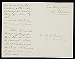 [Benjamin Moran, London, England letter to unidentified recipient, New York, N.Y. 1]