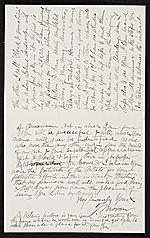 [Thomas Moran, East Hampton, N.Y. letter to unidentified recipient 1]