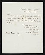 John Ludlow Morton, New York, N.Y. letter to unidentified recipient