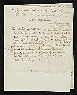 [Rembrandt Peale, Philadelphia, Pa. letter to Charles Willson Peale, New York, N.Y. 2]