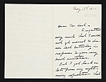 R. Hinton (Roland Hinton) Perry letter to Charles Henry Hart