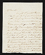 John Ramage letter to Catharine Ramage