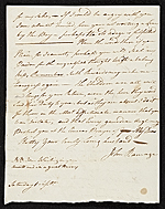 [John Ramage letter to Catharine Ramage 1]