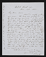 Thomas Buchanan Read letter to unidentified recipient