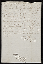 [Thomas Prichard Rossiter, Paris, France letter to James Stillman 1]
