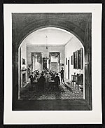 [Photograph of The Dinner Party ]
