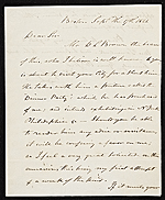 [Henry Sargent, Boston, Mass. letter to John Trumbull, New York, N.Y. ]