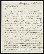 [Joshua Shaw, Philadelphia, Pa. letter to Asher Brown Durand, New York, N.Y. ]