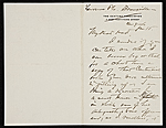 [W. T. (William Thomas) Smedley, Bronxville, N.Y. letter to Charles Henry Hart, New York, N.Y. ]
