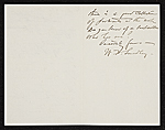 [W. T. (William Thomas) Smedley, Bronxville, N.Y. letter to Charles Henry Hart, New York, N.Y. 1]