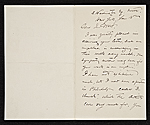 [Walter Shirlaw, New York, N.Y. letter to Charles Henry Hart, New York, N.Y. ]