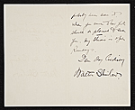 [Walter Shirlaw, New York, N.Y. letter to Charles Henry Hart, New York, N.Y. 1]