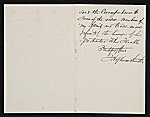 [Francis Hopkinson Smith, New York, N.Y. letter to Charles Henry Hart 1]