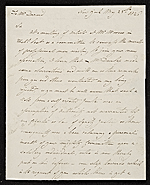 John Rubens Smith, New York, N.Y. letter to Asher Brown Durand