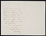 [William Wetmore Story letter to Thomas Moran 1]